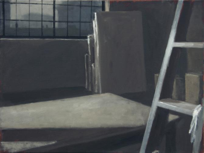 """Study 1, Remembered Detail III"", 2015, oil on canvas, 18 x 24"""